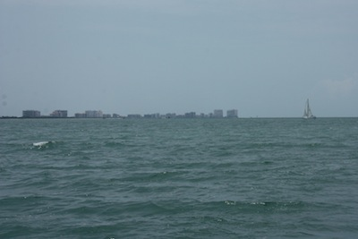 Sailing Past Marco Island