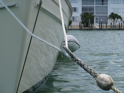 How to tie up to a mooring ball no mozeypictures Gallery