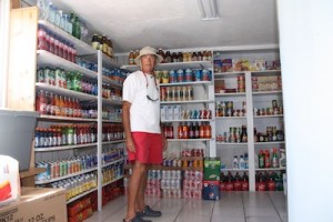 Well Stocked Store in Bimini... Unfortunately This Was Before We Needed to Restock!