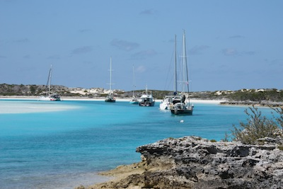 All Around Weather Protected North Mooring Field, Warderick Wells, Exuma Land & Sea Park