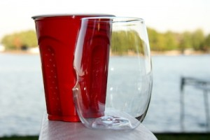 Finally, a Red Solo Cup for Wine