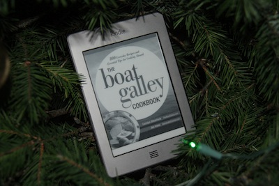 The Boat Galley Cookbook as just be re-released on Kindle!  If you've been waiting, now's the time!