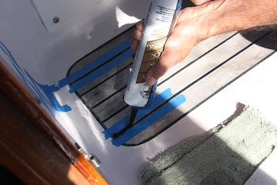 Replacing Black Caulk in Teak: Step by Step PhotosCommuter