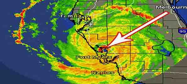 Hurricane Charley Direct Hit