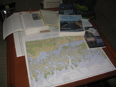 10,000 Islands Chart & Cruising Guides