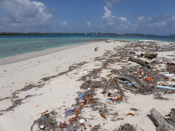 San Blas Islands Beach Trash
