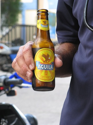 Aguila Beer, definition of a