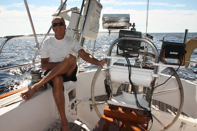 Windvane, wheel autopilot, belowdecks autopilot ... NO WAY!  WE want to sail the boat!