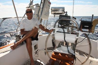 Windvane, wheel autopilot, belowdecks autopilot ... NO WAY!  WE want to sail the boat!