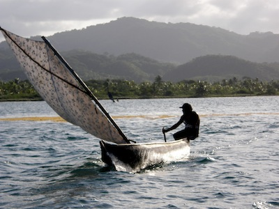 It seems everyone in Kuna Yala are expert, and I do mean EXPERT sailors.  Kids as young as 3-5, men and women, old and young all sail their cayucos in all weather to distant islands.