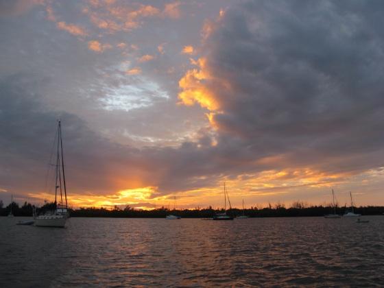 sunset Cayo costa