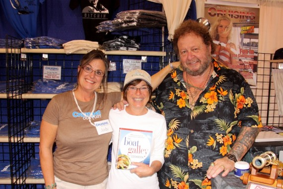 Bob & Jody Bitchin enjoyed the cookbook at the St Pete Boat Show 2012