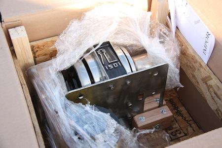 WooHoo!  Our windlass is back!!!