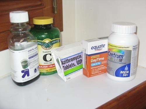 David's medicine stash