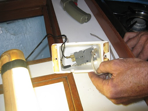 Removing the thermostat - which is not monitoring the air temperature but the core of the ColdPlate temperature instead.  Something else we didn't know.