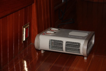 Our little West Marine Heater