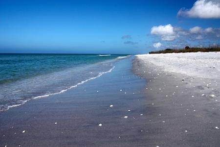 Don Pedro State Park beach.