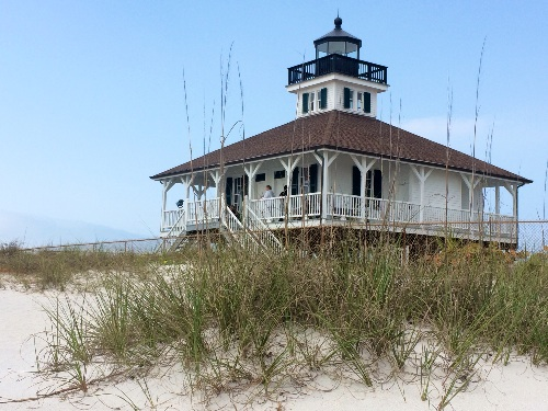 The historic Boca Grande Lighthouse, now a small museum, but the light still works.