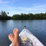 Relax and enjoy the sounds of nature while kayaking Tarpon Bay, Sanibel.