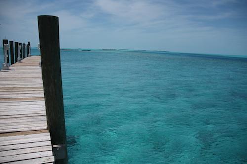 Staniel Cay Yacht Club Docks.