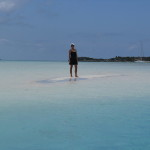 Crystal clear waters, sugar white sand, living the dream.