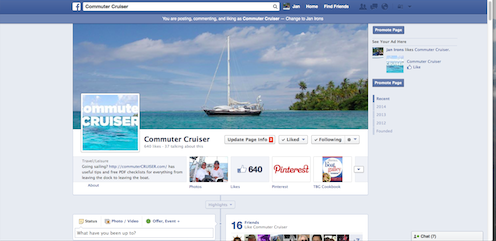 Commuter Cruiser's Facebook Page.