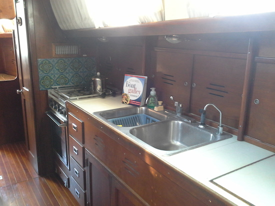 The Boat Galley Cookbook aboard sv Irish Tango, Solomons, MD USA