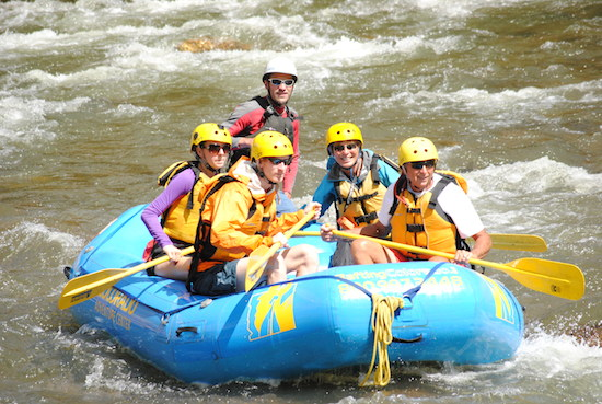 Beginner Rafting on Clear Creek, Idaho Springs, CO