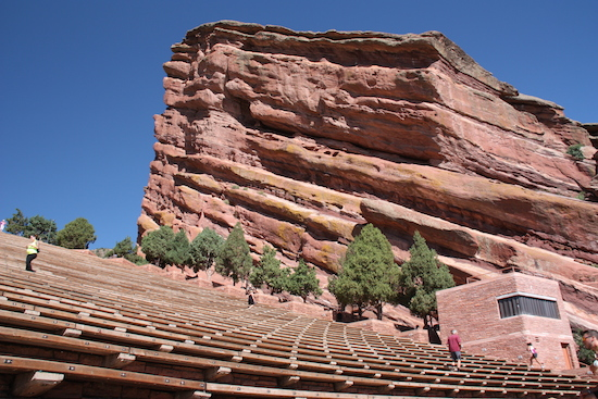 Maybe take in a concert at Red Rocks natural Amphitheatre?  That would be SO much fun!