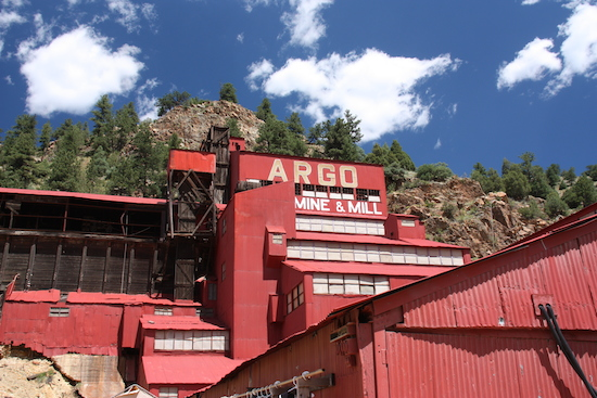 The old gold mine where our rafting company was located.