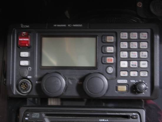 I love my Icom M802, but I don't love the microphone cord.... we've replaced it 3 times and after all these years we find out ICom will replace it for nothing???
