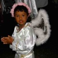 Portobelo Angel during the Black Christ Celebration, Portobelo Panama