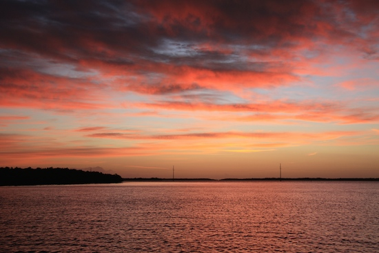 Sunrise over Chino Island (across ICW from Captiva Island).  Good MORNING world!