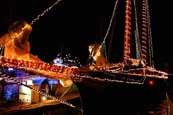 GREAT Christmas Lights Boat Parade