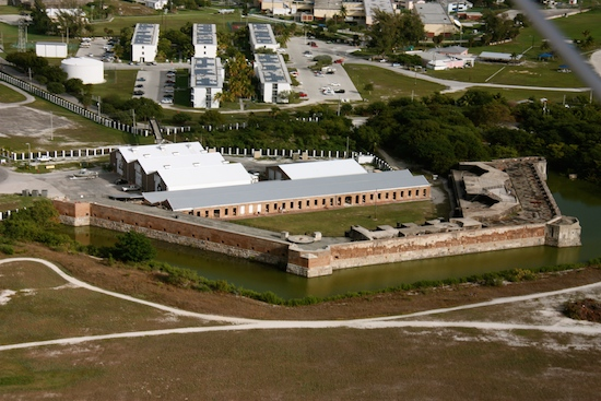 Fort Zachary Taylor, the fort built to protect the southernmost gateway to the Gulf for the Civil War.