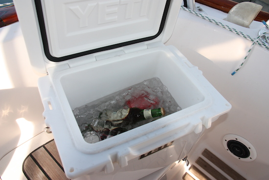Yep it's the same cooler (might be minus a couple of the original beverages)