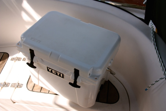 Our friends Yeti Roadie 20 - in fairness, the smaller coolers are not reported to do as well as the larger versions, so our