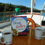 The Boat Galley Cookbook aboard s/v Sionna, North Haven Island, Maine - THANKS to Keith & Niki for submitting this photo!