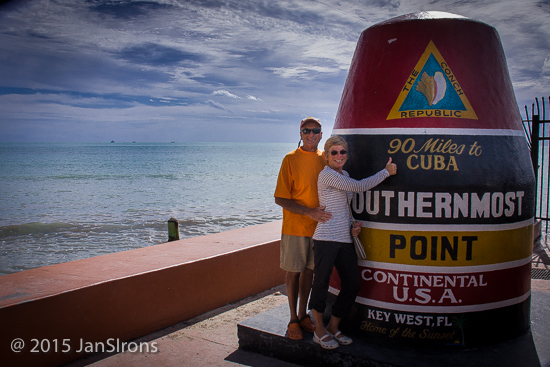 Ah yes, the iconic photo of the Southernmost Point Marker... 90 miles to Cuba ....