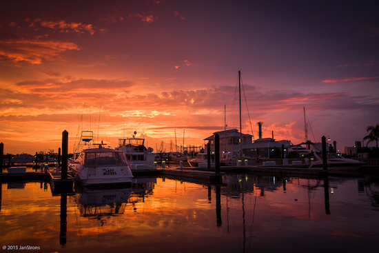 Sunrise at Stock Island Marina Village