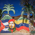 One of blocks and blocks of mosiac art in Jaimantas - do not miss this short walk!
