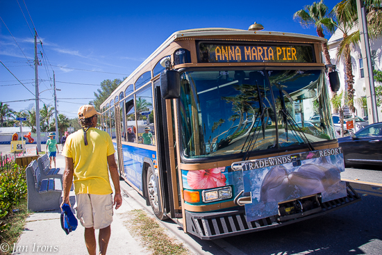The FREE Anna Maria Trolley Bus