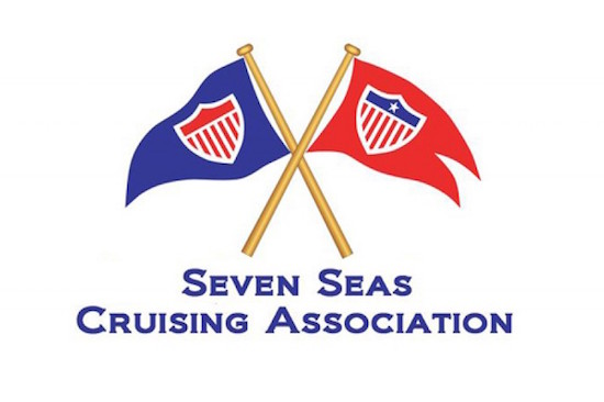 Blue Burgee indicates Associates Members and Red Burgees are SSCA Commodores.