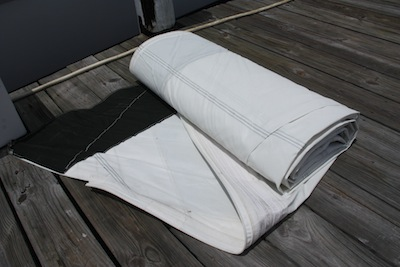 Image result for flaked folded sail